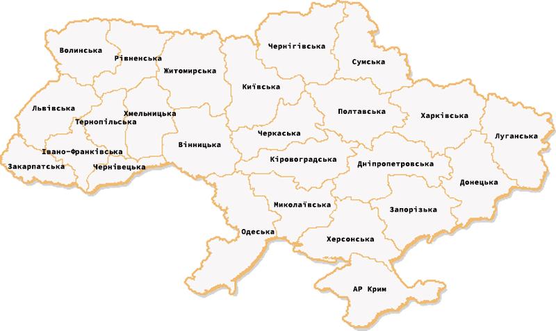 Карта розташування медичних центрів