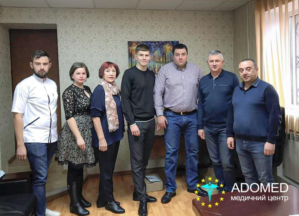 Відвідування гостями з Молдови медичного центру «ADOMED» у Києві